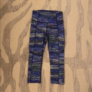 Size 4 Lululemon Cropped Fast and Free Tights